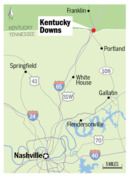 Racing machines paying off for Kentucky Downs The Nashville Ledger