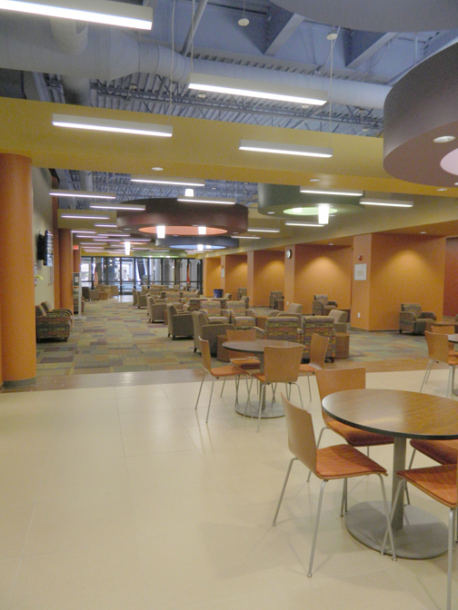 A Student Lounge Area Is Part Of The 200000 Square Foot Southeast Campus Nashville State Other Campuses Are Located On White Bridge Road And In