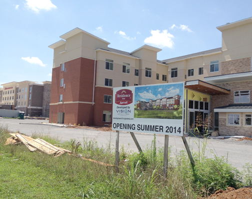 Hotels Sprouting In Murfreesboro S Gateway Center The Nashville Ledger