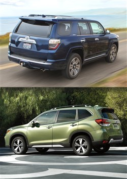 4Runner vs. Forester  It depends on where you drive 7c943afc9
