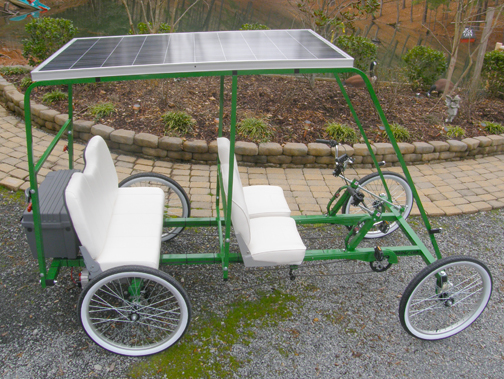 Hit The Rhoades With Solar-powered Bike
