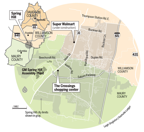 Can Spring Hill be the next CoolSprings? - The Nashville Ledger