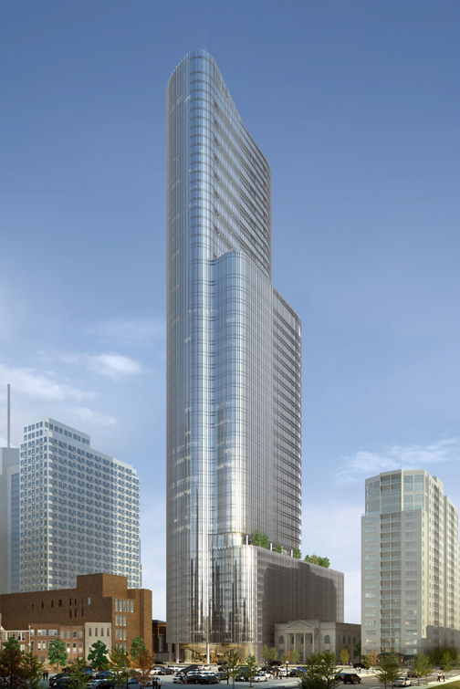 Skyscrapers planned for nashville
