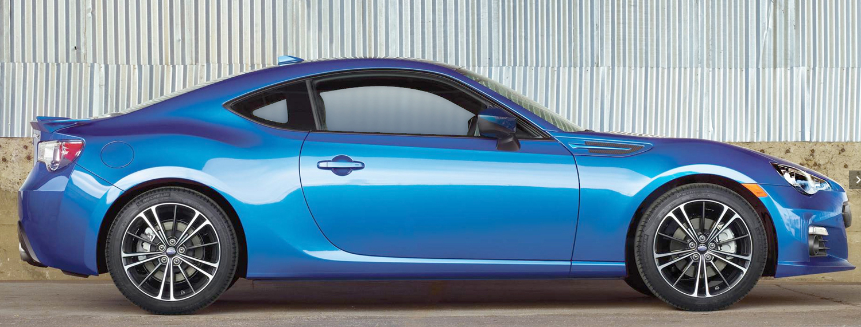 Subaru Goes Rear Wheel Drive With Brz