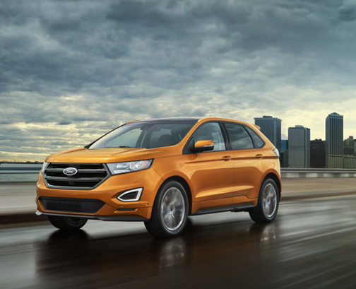For  Ford Stocks Its Edge Suv With More Technology Including An Adaptive Steering Feature And Park Assist That Can Handle Even Perpendicular Spaces