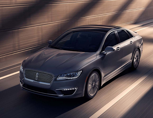 For 2017 Lincoln Continues To Improve Its Midsize Mkz Hybrid Sedan By Adding A Jaguar Esque Grille Easier Use Audio And Ventilation Controls An