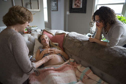 Natural way: Midwife aided, mother approved - The Nashville