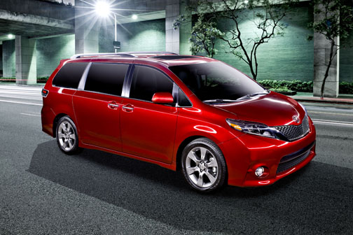 Toyotau0027s Sienna Van Adds A More Powerful And More Fuel Efficient Engine For  2017 And Now Ranks At The Top In Gas Mileage Ratings With Competing Family  Vans.
