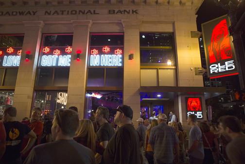 Stars' bars transform Lower Broadway - The Nashville Ledger