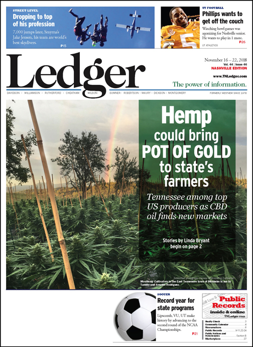 Hemp could bring pot of gold to state's farmers - The