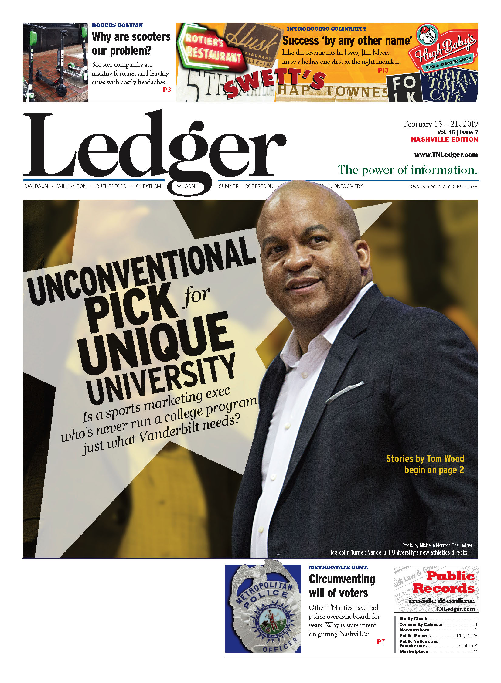 An unconventional pick for unique university - The Nashville Ledger