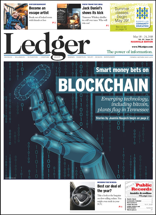 blockchain healthcare - ledger nashville